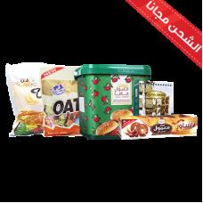 Maamoul Shoufan (Milk + Chocolate) + Ma'mul Hijazi + Mamlul Mamma large+ Maamoul Assaour om Saleh