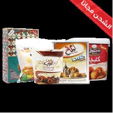 Maamoul Shofan Milk + Tnk Klega + Chocolate Bartman + Clega Um Saleh + Mamoual bracelets Mama large