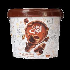 Maamoule large oat + Mamloul mama large pail + Mamlol Um Saleh bucket 700 grams + mammoul Loli Bates