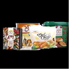 Maamoul Shouvan (milk) + Tnk Kliga Um Salih + Halawa cow + Mamlul Mama pail